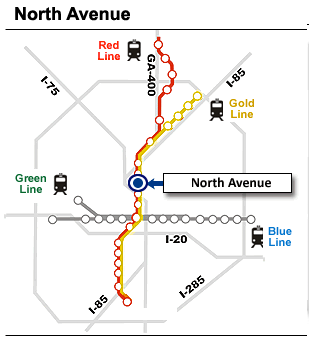 Marta North Ave Station